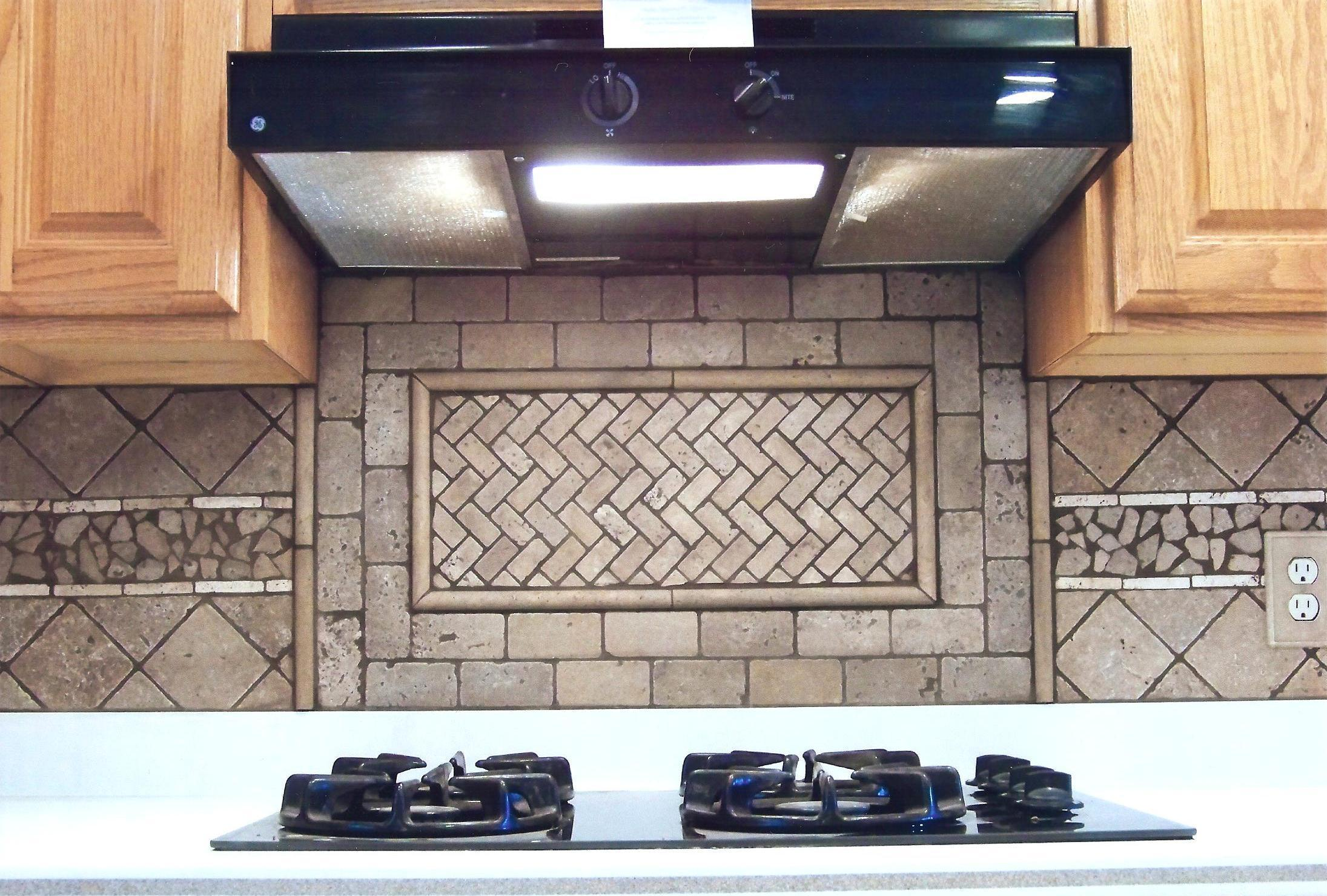 how to cut stone tile for backsplash